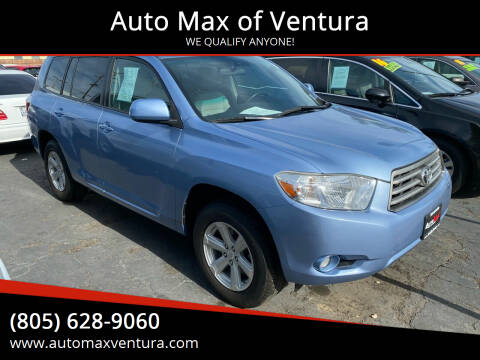 2010 Toyota Highlander for sale at Auto Max of Ventura in Ventura CA