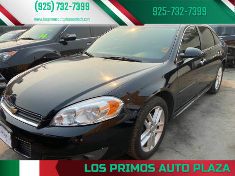 2011 Chevrolet Impala for sale at Los Primos Auto Plaza in Antioch CA