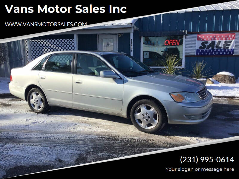 2004 Toyota Avalon for sale at Vans Motor Sales Inc in Traverse City MI