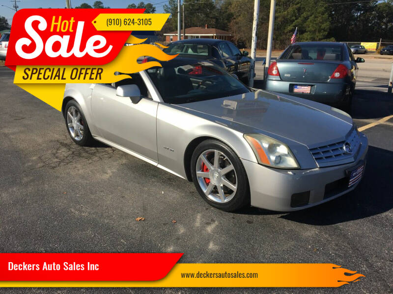 2005 Cadillac XLR for sale at Deckers Auto Sales Inc in Fayetteville NC