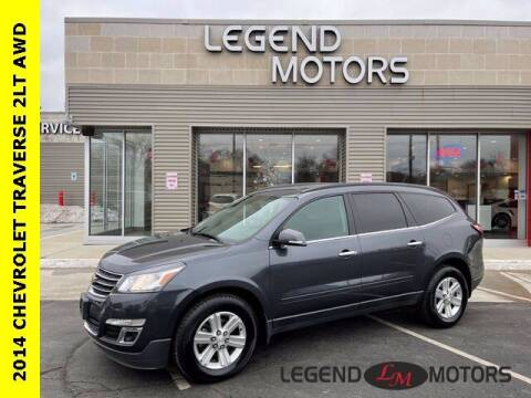 2014 Chevrolet Traverse for sale at Legend Motors of Waterford in Waterford MI
