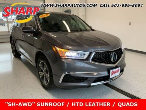 2018 Acura MDX for sale at Sharp Automotive in Watertown SD