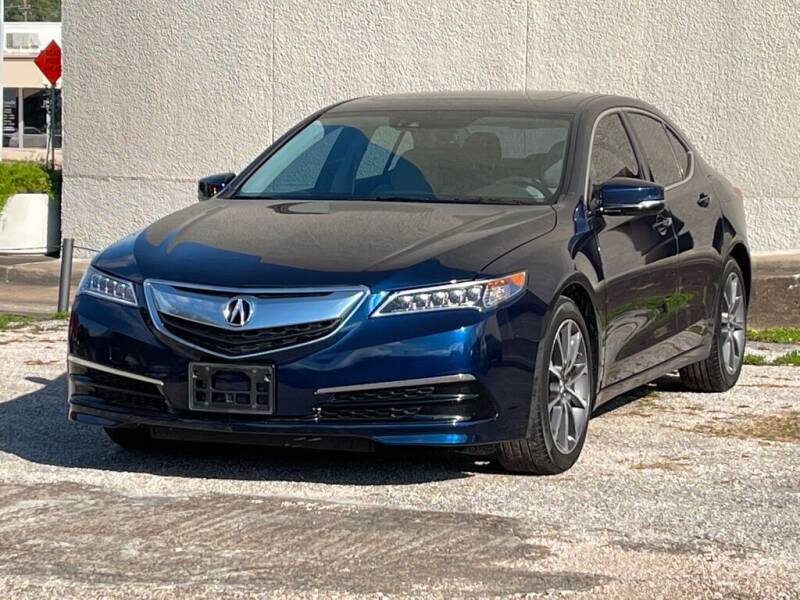 2015 Acura TLX for sale at Strait Motor Cars Inc in Houston TX