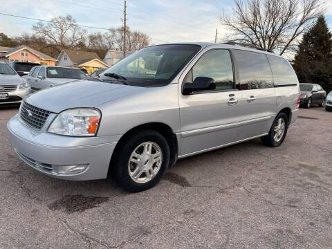 2007 Ford Freestar for sale at RIVERSIDE AUTO SALES in Sioux City IA