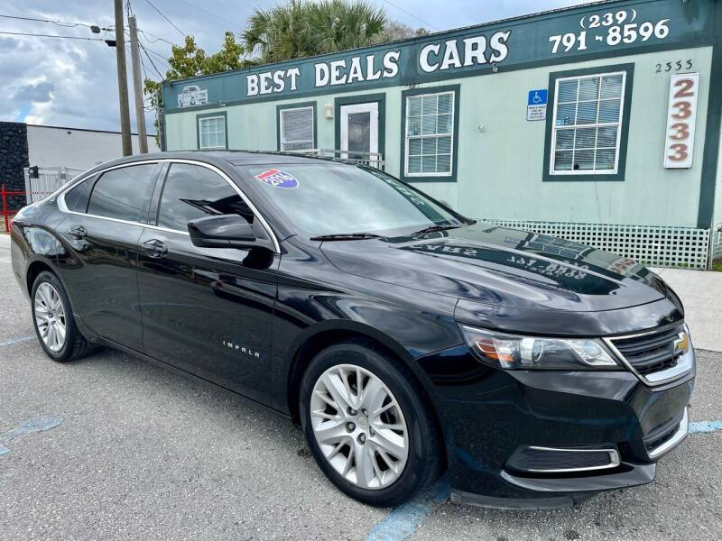 2015 Chevrolet Impala for sale at Best Deals Cars Inc in Fort Myers FL