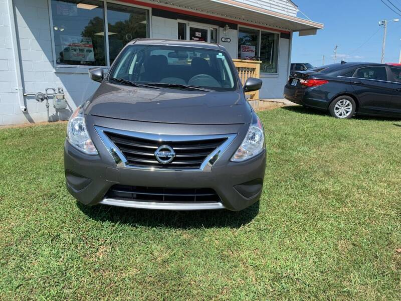 2017 Nissan Versa for sale at Todd Nolley Auto Sales in Campbellsville KY