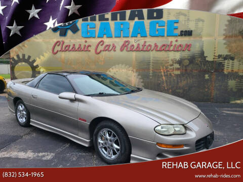 2001 Chevrolet Camaro for sale at Rehab Garage, LLC in Tomball TX