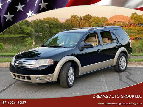 2008 Ford Taurus X for sale at Dreams Auto Group LLC in Sterling VA