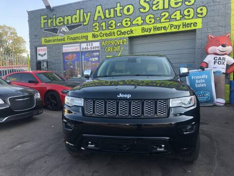 2014 Jeep Grand Cherokee for sale at Friendly Auto Sales in Detroit MI
