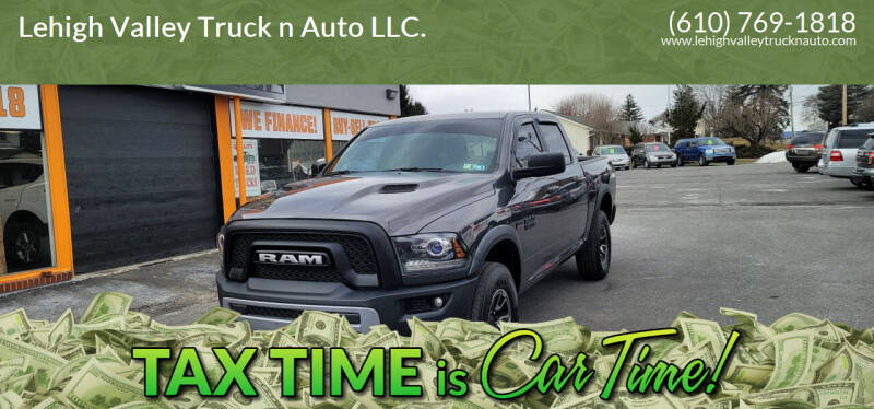2016 RAM Ram Pickup 1500 for sale at Lehigh Valley Truck n Auto LLC. in Schnecksville PA