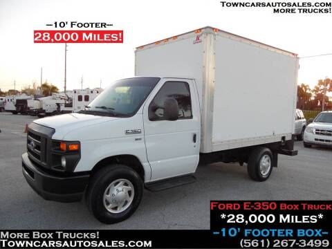 2012 Ford E-350 for sale at Town Cars Auto Sales in West Palm Beach FL