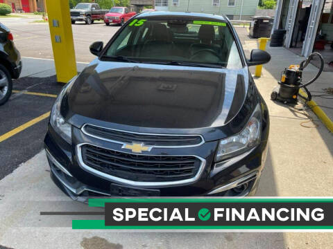 2015 Chevrolet Cruze for sale at VALLEY IMPORTS LLC in Cincinnati OH