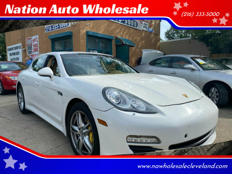 2010 Porsche Panamera for sale at Nation Auto Wholesale in Cleveland OH