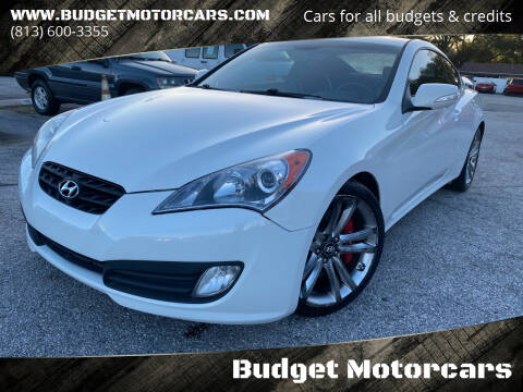 2010 Hyundai Genesis Coupe for sale at Budget Motorcars in Tampa FL