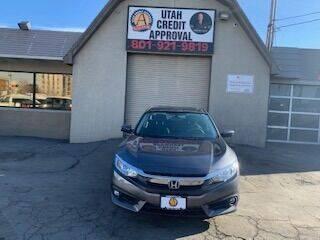 2018 Honda Civic for sale at Utah Credit Approval Auto Sales in Murray UT