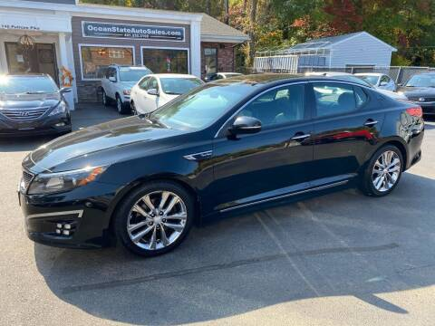 2014 Kia Optima for sale at Ocean State Auto Sales in Johnston RI