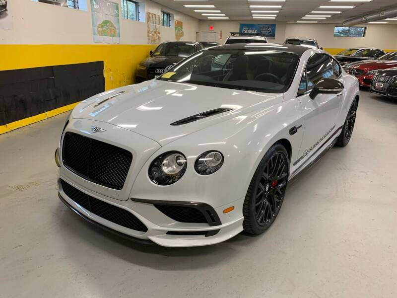 2017 Bentley Continental for sale at Newton Automotive and Sales in Newton MA