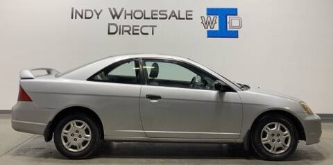 2001 Honda Civic for sale at Indy Wholesale Direct in Carmel IN