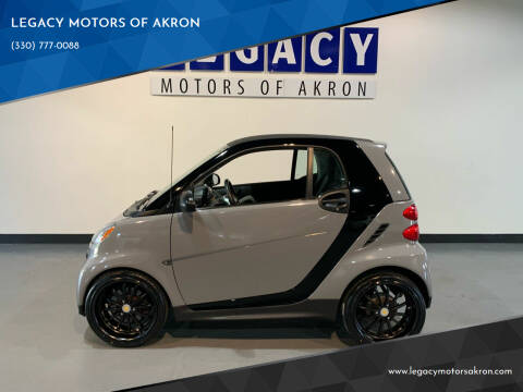 2015 Smart fortwo for sale at LEGACY MOTORS OF AKRON in Akron OH