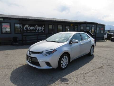 2016 Toyota Corolla for sale at Central Auto in South Salt Lake UT