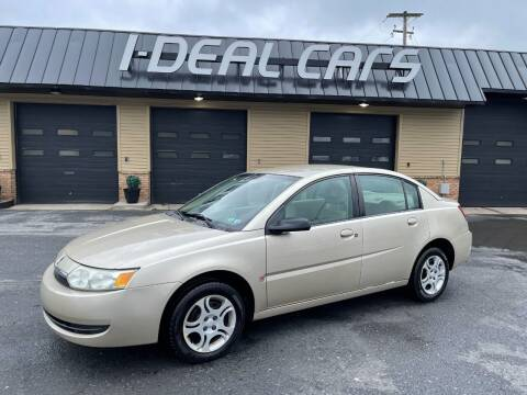 2004 Saturn Ion for sale at I-Deal Cars in Harrisburg PA