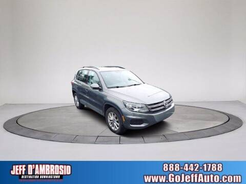2018 Volkswagen Tiguan Limited for sale at Jeff D'Ambrosio Auto Group in Downingtown PA