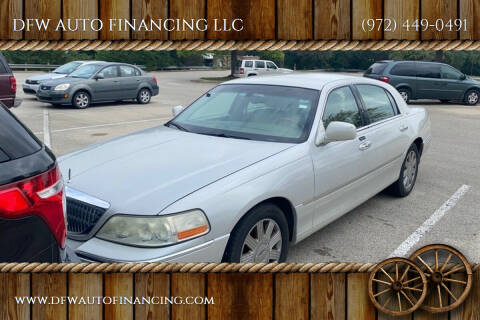 2004 Lincoln Town Car for sale at Bad Credit Call Fadi in Dallas TX