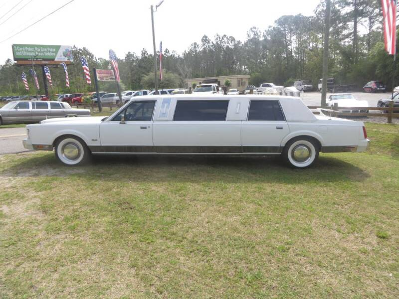 1988 Lincoln Town Car for sale at Ward's Motorsports in Pensacola FL