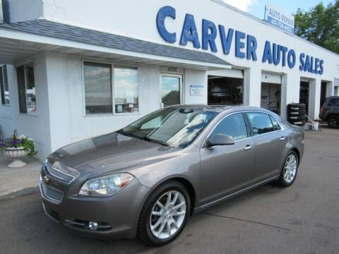 2012 Chevrolet Malibu for sale at Carver Auto Sales in Saint Paul MN