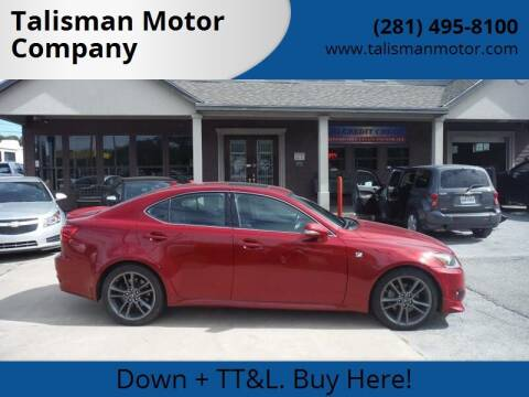 2011 Lexus IS 250 for sale at Don Jacobson Automobiles in Houston TX