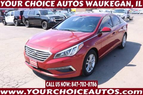 2015 Hyundai Sonata for sale at Your Choice Autos - Waukegan in Waukegan IL