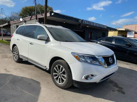 2013 Nissan Pathfinder for sale at Texas Luxury Auto in Houston TX