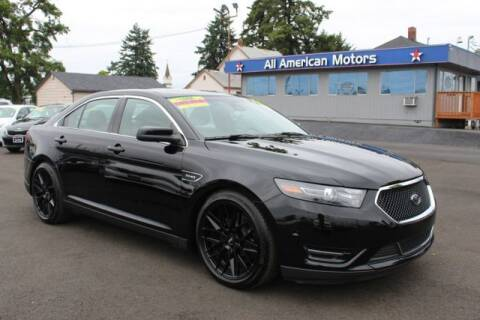 2018 Ford Taurus for sale at All American Motors in Tacoma WA