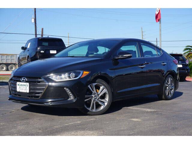2017 Hyundai Elantra for sale at Maroney Auto Sales in Humble TX