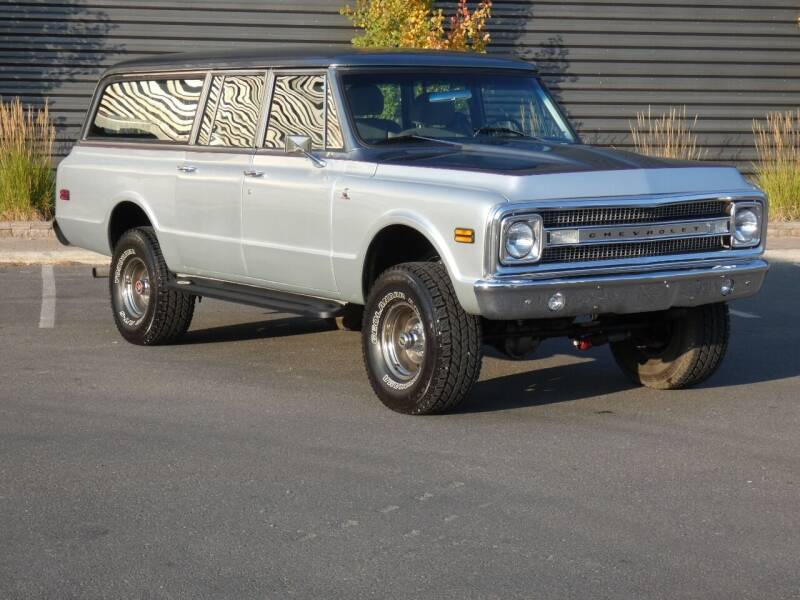 1972 Chevrolet Suburban for sale at Sun Valley Auto Sales in Hailey ID