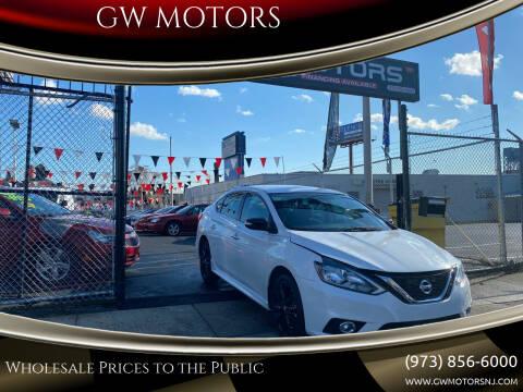 2018 Nissan Sentra for sale at GW MOTORS in Newark NJ