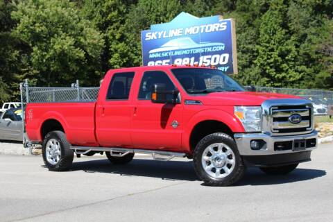 2015 Ford F-350 Super Duty for sale at Skyline Motors in Louisville TN