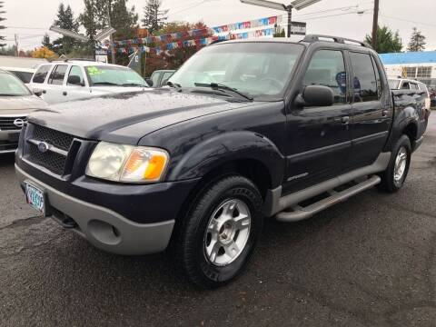 2002 Ford Explorer Sport Trac for sale at Stag Motors in Portland OR