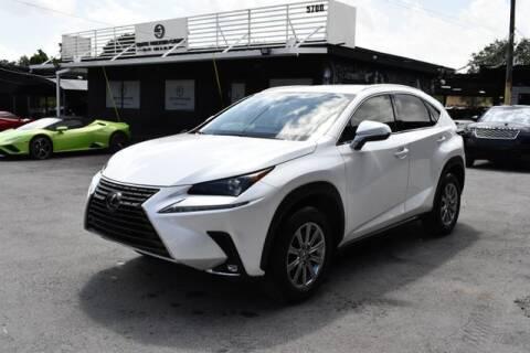 2019 Lexus NX 300 for sale at AE Of Miami in Miami FL