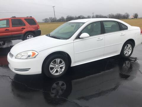 2013 Chevrolet Impala for sale at Huggins Auto Sales in Hartford City IN
