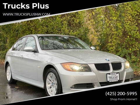 2007 BMW 3 Series for sale at Trucks Plus in Seattle WA