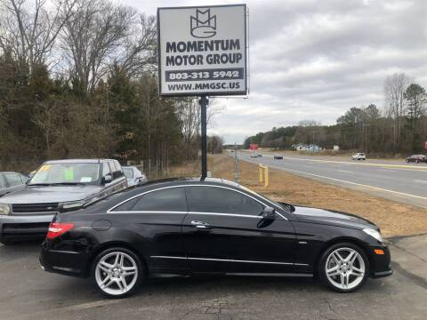 2012 Mercedes-Benz E-Class for sale at Momentum Motor Group in Lancaster SC