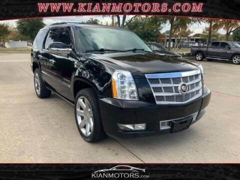 2014 Cadillac Escalade for sale at KIAN MOTORS INC in Denton TX