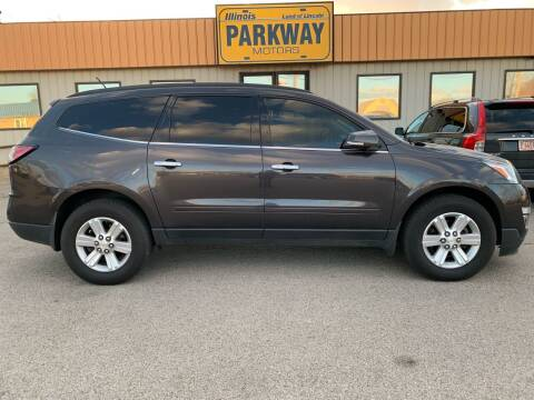 2013 Chevrolet Traverse for sale at Parkway Motors in Springfield IL