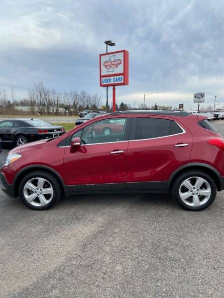 2015 Buick Encore for sale at DAVE KNAPP USED CARS in Lapeer MI