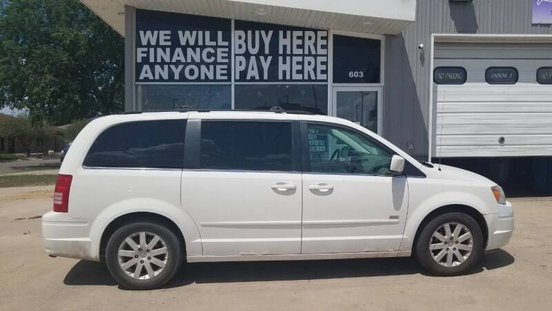 2008 Chrysler Town and Country for sale at STERLING MOTORS in Watertown SD