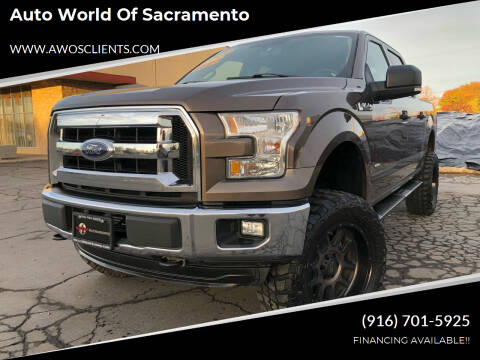 2015 Ford F-150 for sale at Auto World of Sacramento Stockton Blvd in Sacramento CA