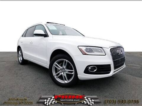 2014 Audi Q5 for sale at PRIME MOTORS LLC in Arlington VA