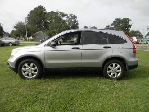 2007 Honda CR-V for sale at SeaCrest Sales, LLC in Elizabeth City NC