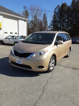 2012 Toyota Sienna for sale at A-Plus Motors in Alton ME